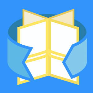 Winkels icon + vierkant